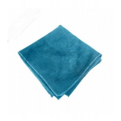 Panno in microfibra azzurra